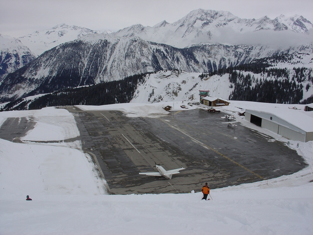 22. Courchevel Altiport, France