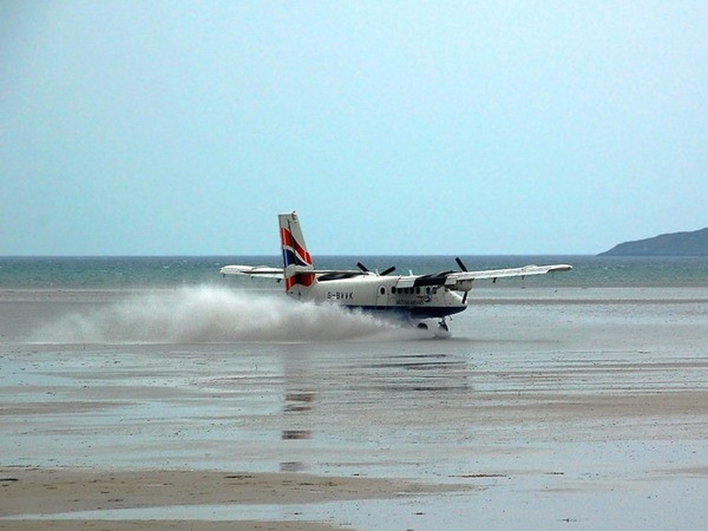 25. Barra International Airport, Scotland