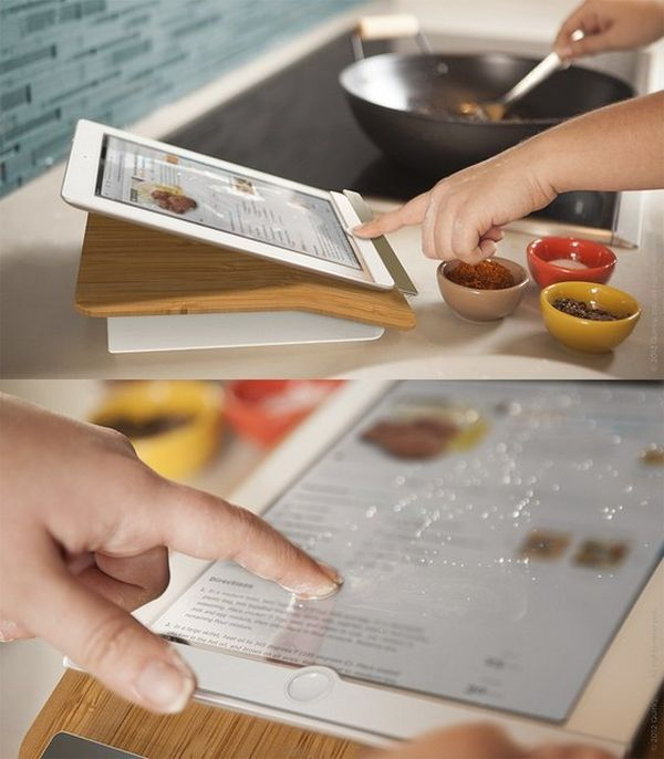 design a kitchen on ipad 20 futuristic kitchen gadgets for a smart cooking 364