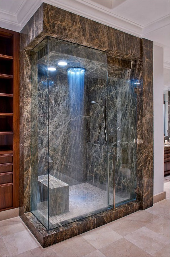 7 Marble Shower Room Cool Design Part 76