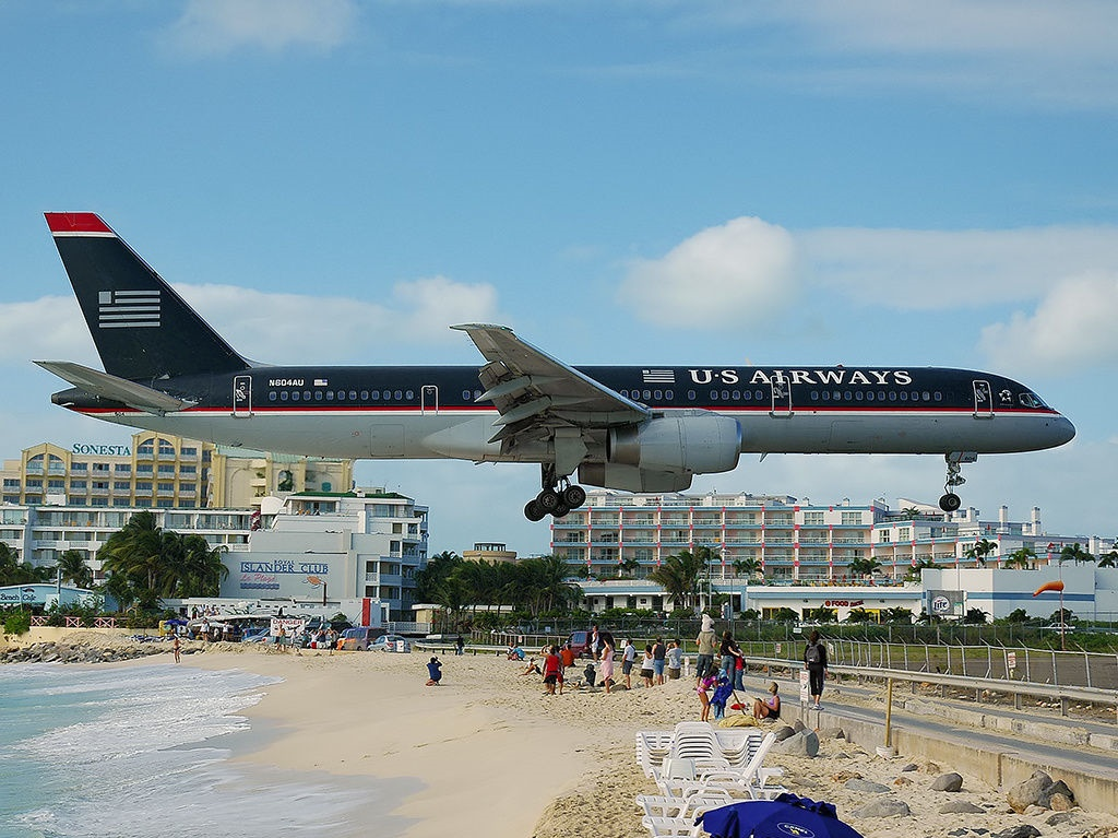 9. Princess Juliana International Airport, Saint Martin