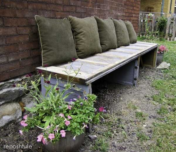 25 popular diy garden benches you can build it yourself for D i y garden bench designs