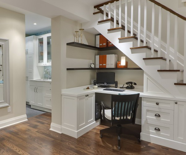 42 Under Stairs Storage Ideas For Small