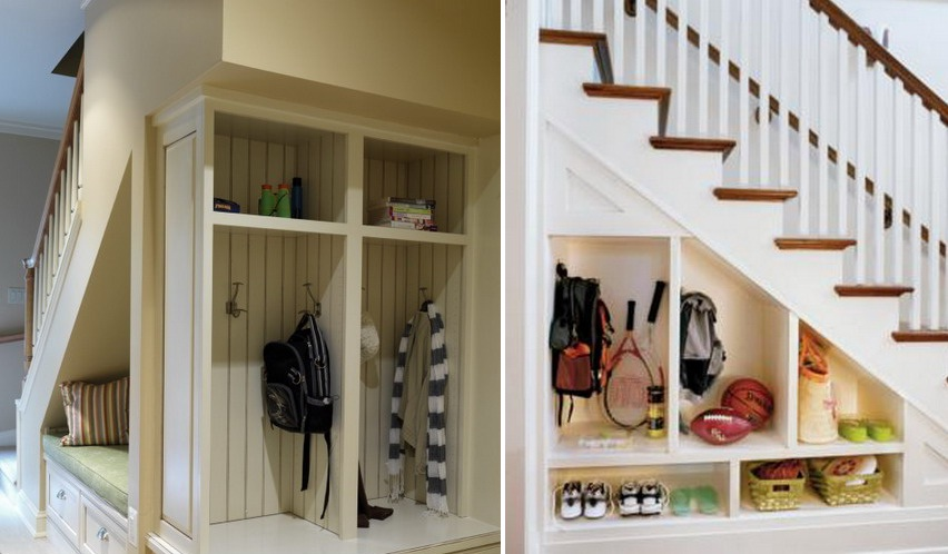... Storage Ideas Under Stairs In Hallway2