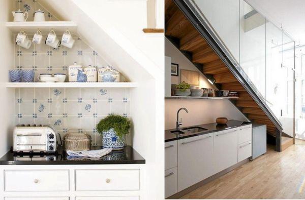 Exceptionnel Storage Ideas Under Stairs In Kitchen