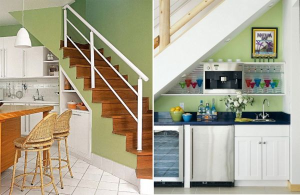 Under Stairs Kitchen Storage markcastroco