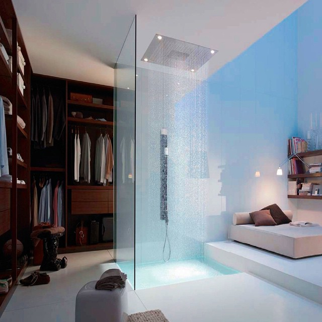 28. A Seamlessly Integrated Shower