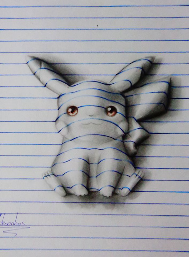 AD-3D-Lines-Notepad-Drawings-15-Years-Old-Joao-Carvalho-11