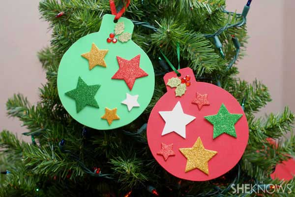 40+ Easy And Cheap DIY Christmas Crafts Kids Can Make ...