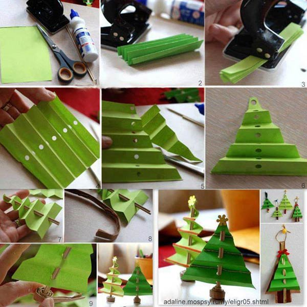 ad simple and affordable diy christmas decorations 38 - Easy Paper Christmas Decorations