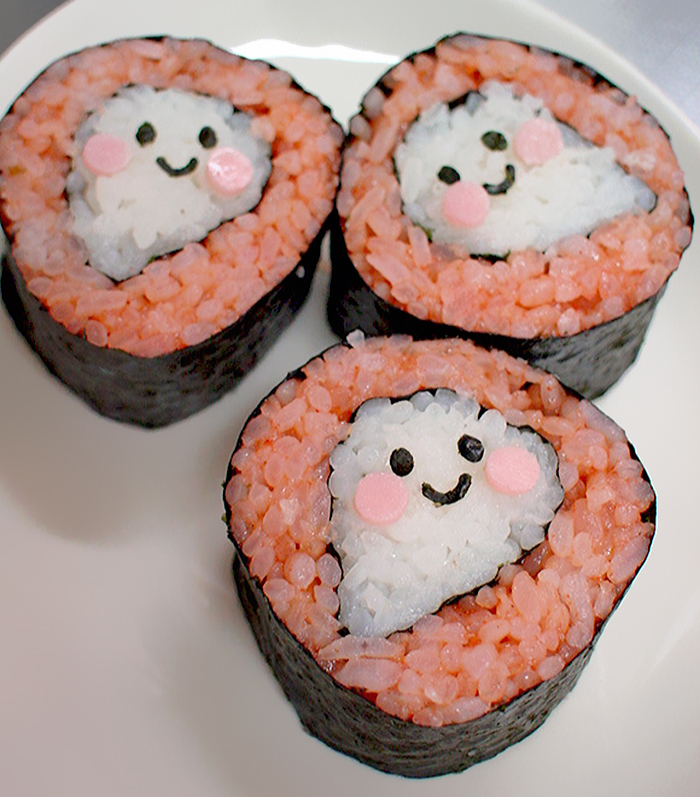 30 Cute And Creative Pieces Of Sushi Art
