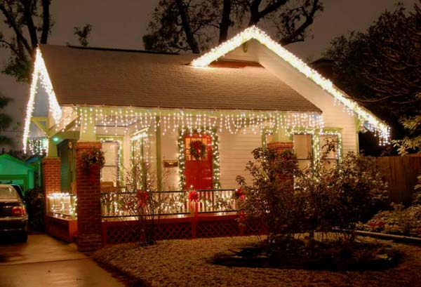 Top 46 outdoor christmas lighting ideas illuminate the holiday outdoor christmas lighting decorations 1 aloadofball Images