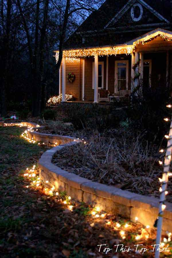 Top 46 Outdoor Christmas Lighting Ideas Illuminate