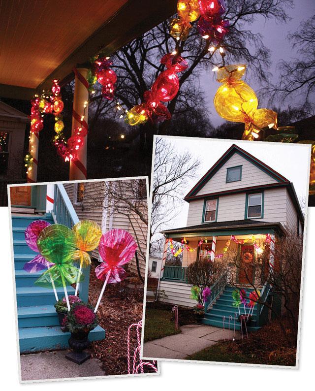 Top 46 Outdoor Christmas Lighting Ideas Illuminate The ... on Patio Lights Decorating Ideas id=49533