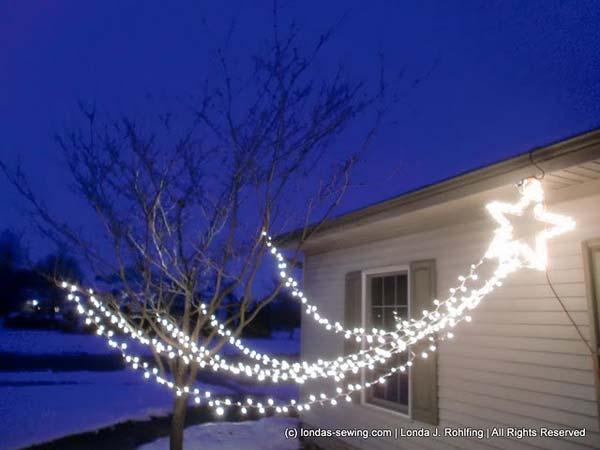 Top 46 Outdoor Christmas Lighting Ideas Illuminate The ... on Patio Lights Decorating Ideas id=35351