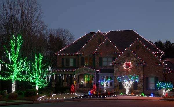 outdoor christmas lighting decorations 7 - Exterior Christmas Lights Ideas