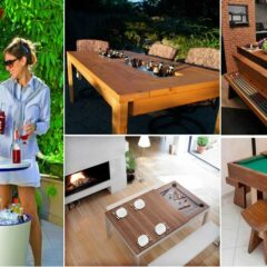 9 Coolest Tables You'll Want In Your Dinning Room or Backyard