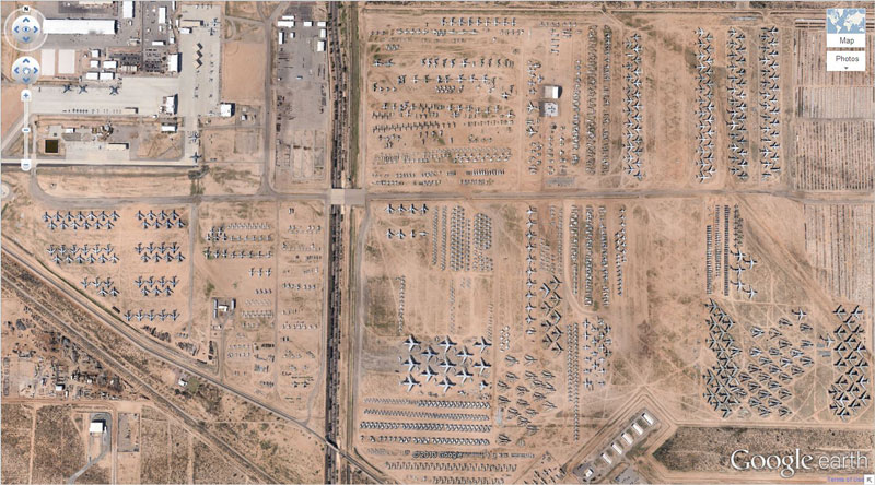 1-airplane-boneyard-tucson-arizona-google-earth