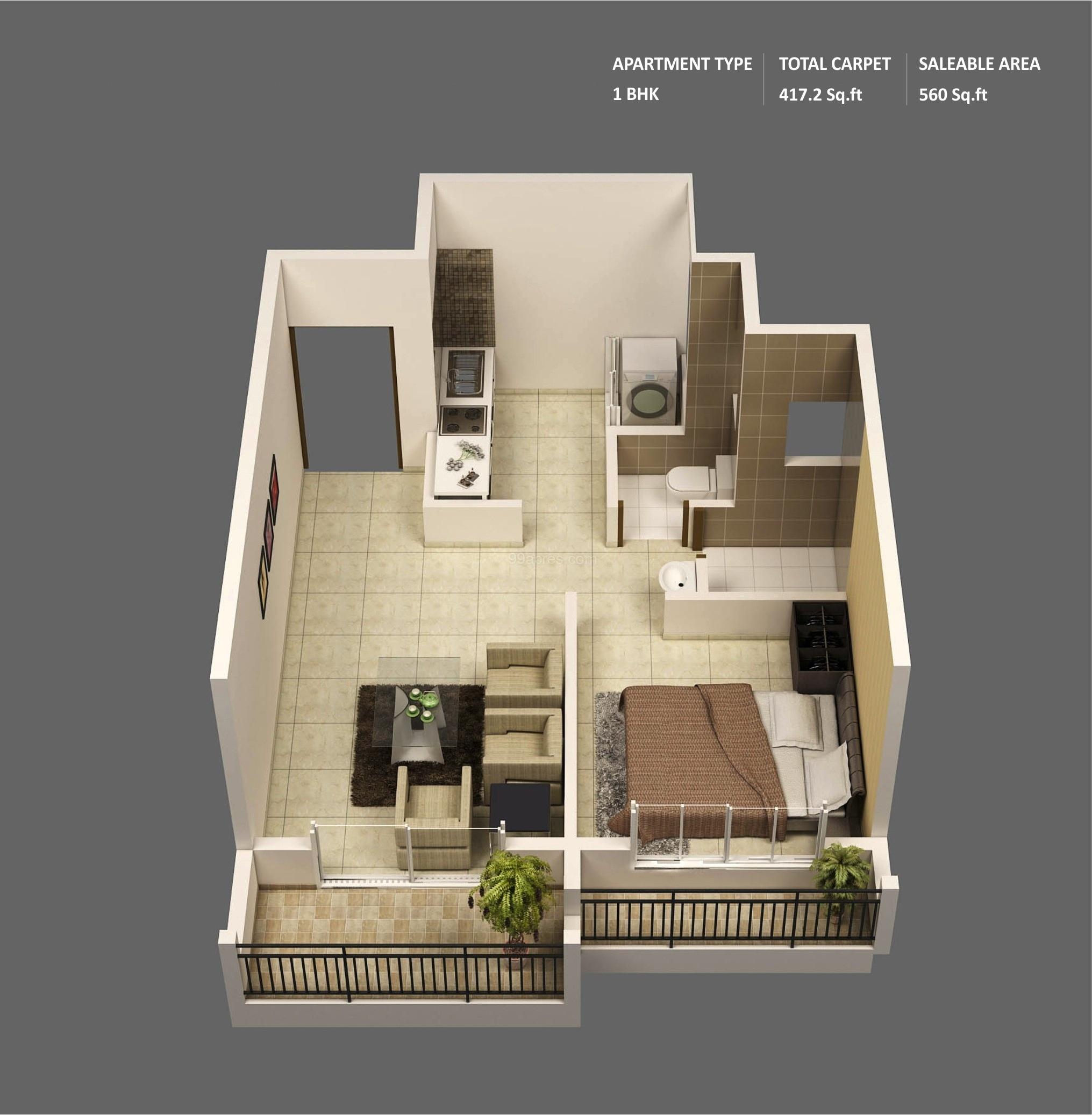 50 one 1 bedroom apartment house plans architecture for 500 square meters house design