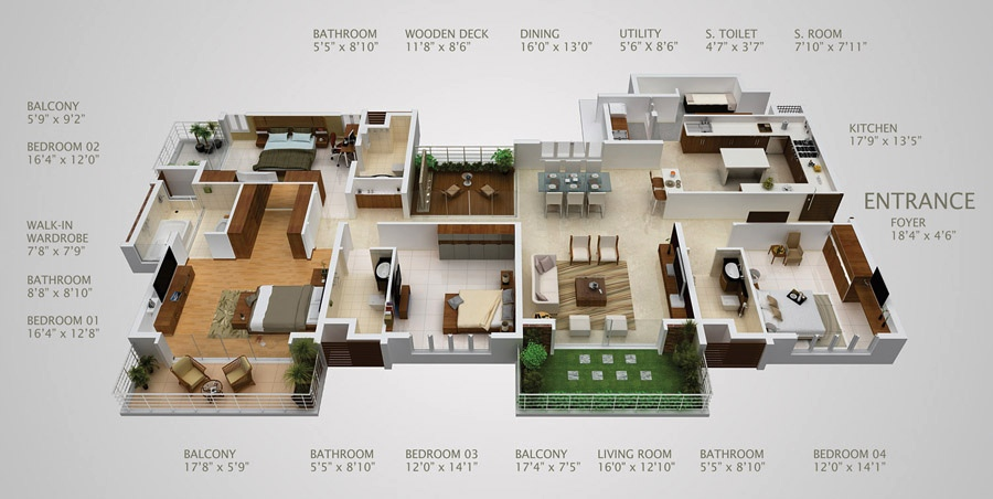 17 house layout ideas