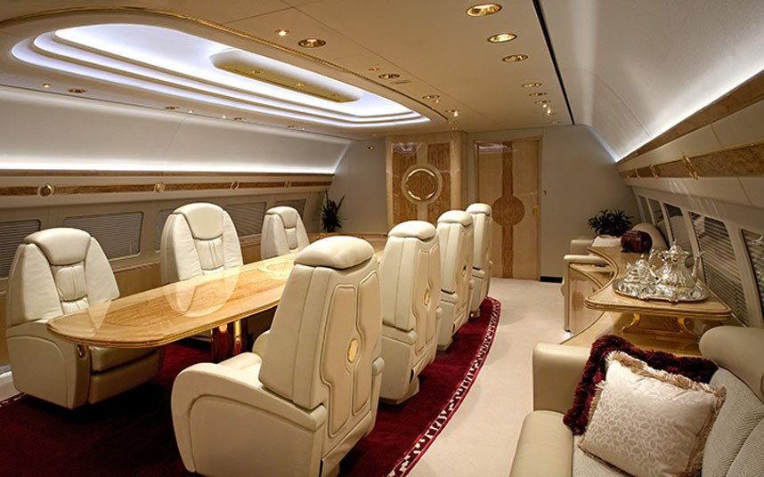 25+ Amazing Private Jet Interiors: Step Inside The World's ...