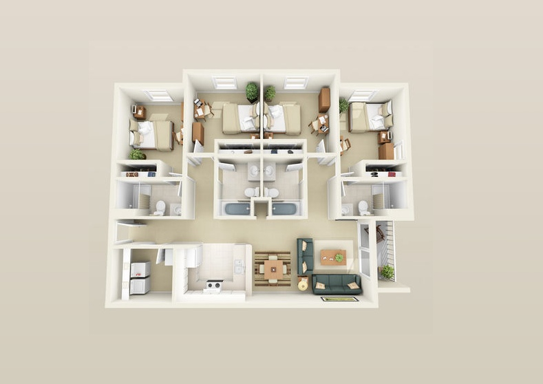 39 Compact Home Layout