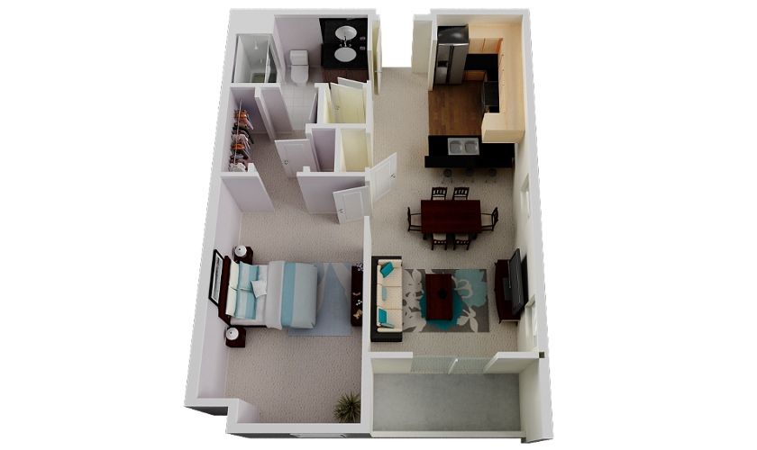 44-Misora-Apartment-with-Balcony