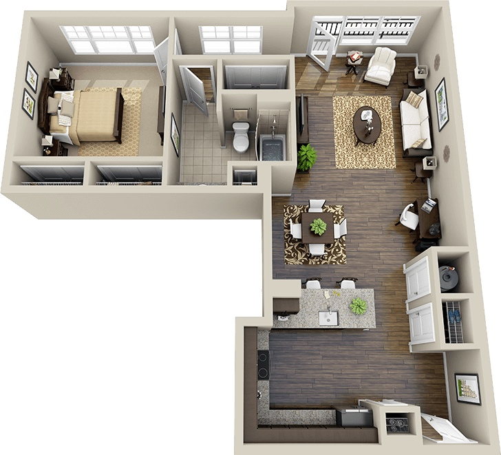 48 crescent cameron village apartment floor plan this l shaped