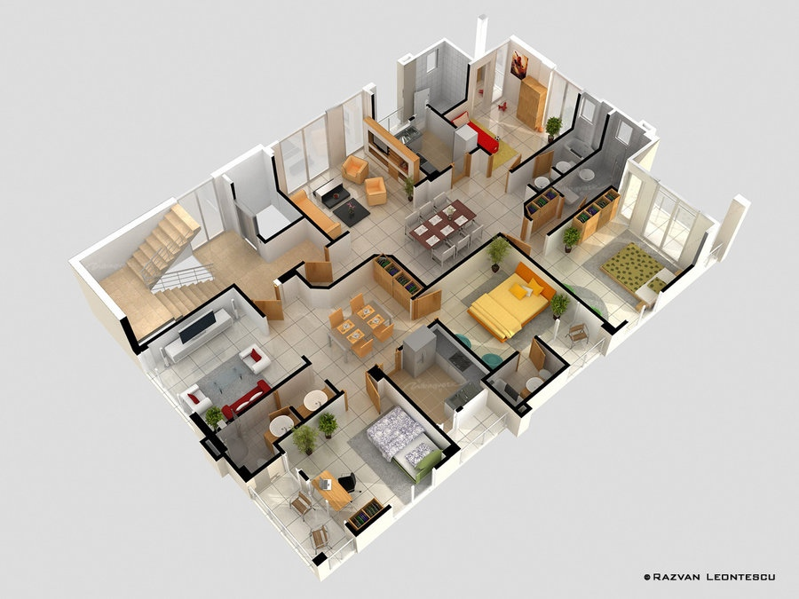 8 Home Layouts