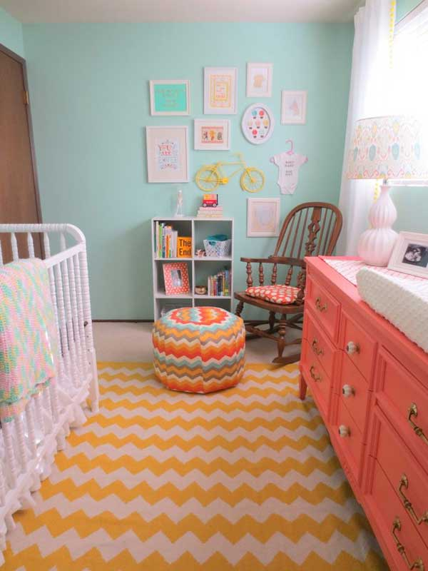 20+ Steal-Worthy Decorating Ideas For Small Baby Nurseries ...