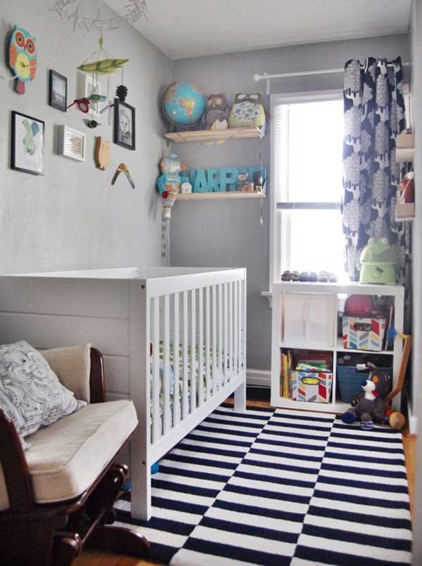 Baby Nurseries For Small Rooms AD-Baby-Nursery-Ideas-13