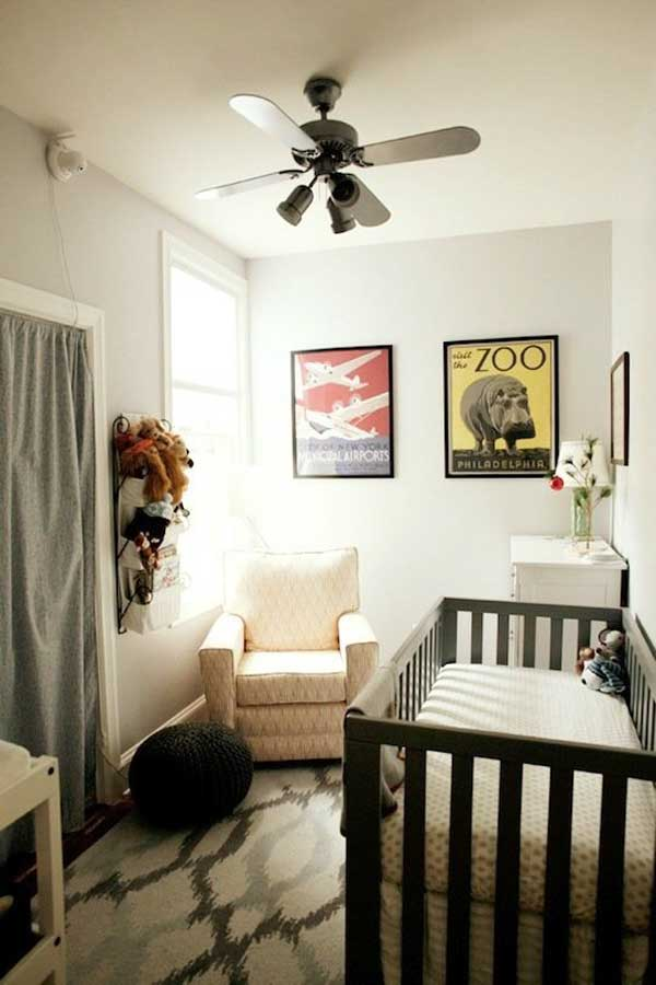 20 Steal Worthy Decorating Ideas For Small Baby Nurseries