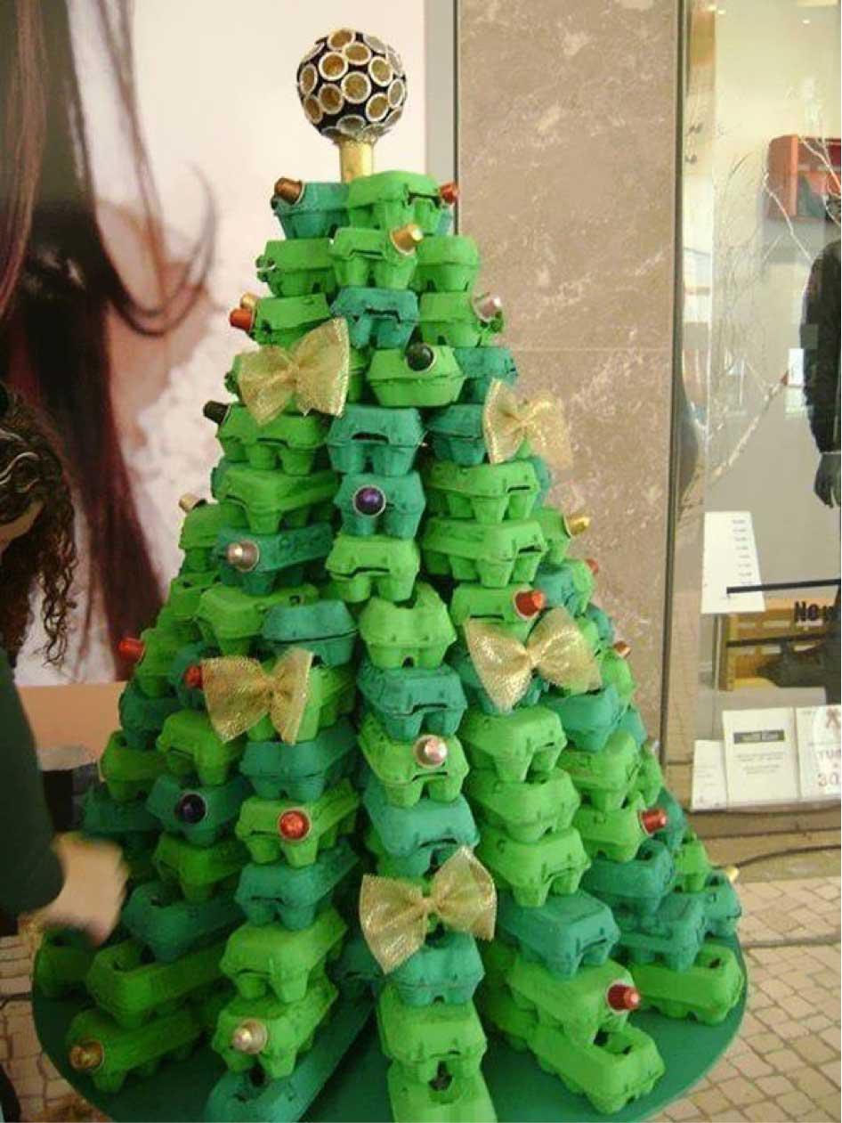 Idee Di Riciclo Per Natale 8 alberi di natale creativi e fai da te – fai da te creativo