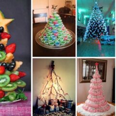 30+ Of The Most Magnificent Christmas Trees You Can Make This Holiday