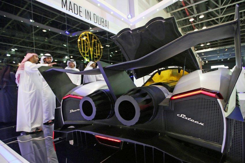 Dubai International Motor Show / Devel Sixteen