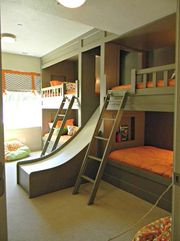 Kids Room Ideas Bunk Beds 21 most amazing design ideas for four kids room | architecture
