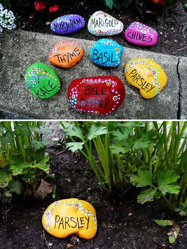 Rock Stone Garden Decor 7
