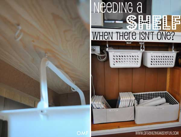 Hanging Baskets Under The Cabinet Smart Storage Solutions 5