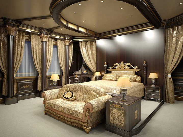 Eye catching bedroom ceiling designs that will make you for Most beautiful bedroom designs
