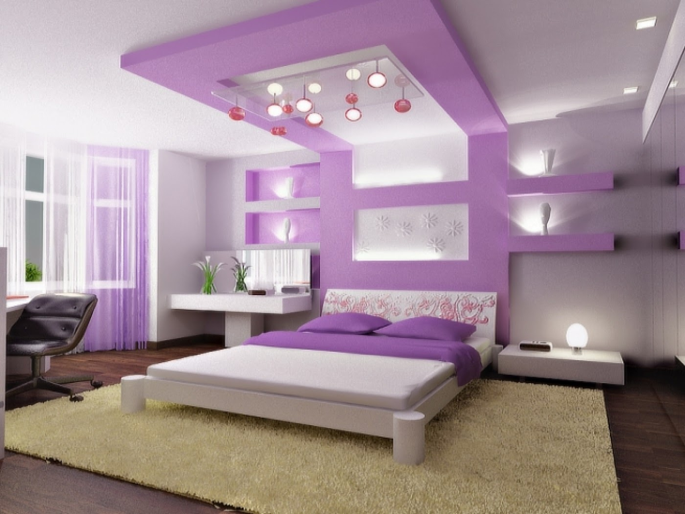 Eye catching bedroom ceiling designs that will make you for Bedroom design maker