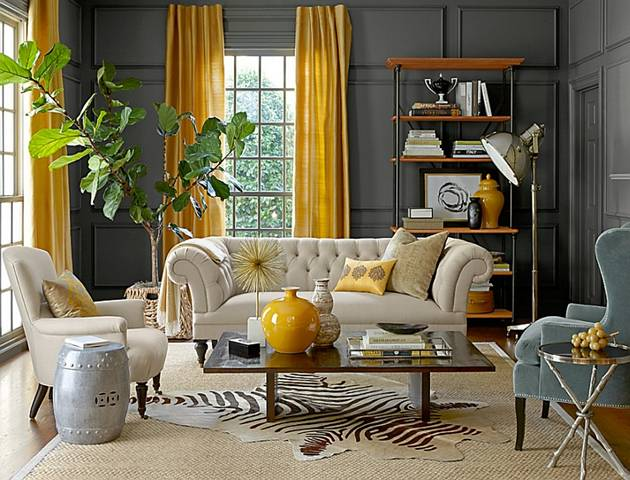 10 unique styles for decorating the living room - How to decorate room ...