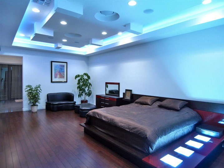 Eye catching bedroom ceiling designs that will make you for Moderne deckenbeleuchtung