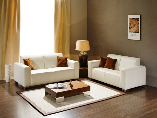 15 ideal designs for low budget living rooms for Simple drawing room images