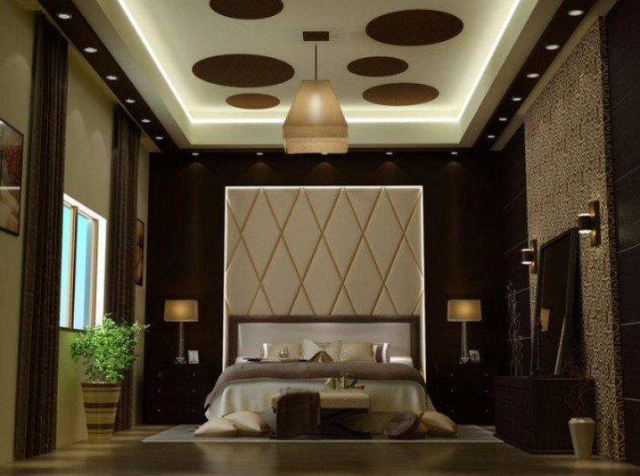 Perfect 5 Plaster Of Paris Ceiling For Bedroom