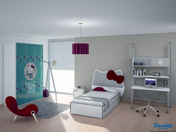 Dreamful Hello Kitty Room Designs For Girls Architecture Design