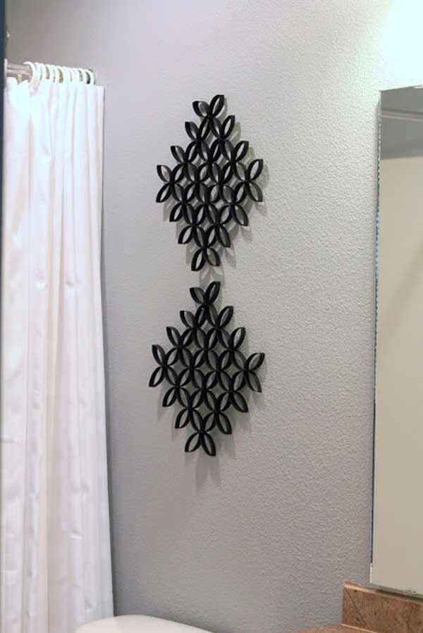 AD-Toilet-Paper-Roll-Wall-Art-11 & 30 Homemade Toilet Paper Roll Art Ideas For Your Wall Decor ...
