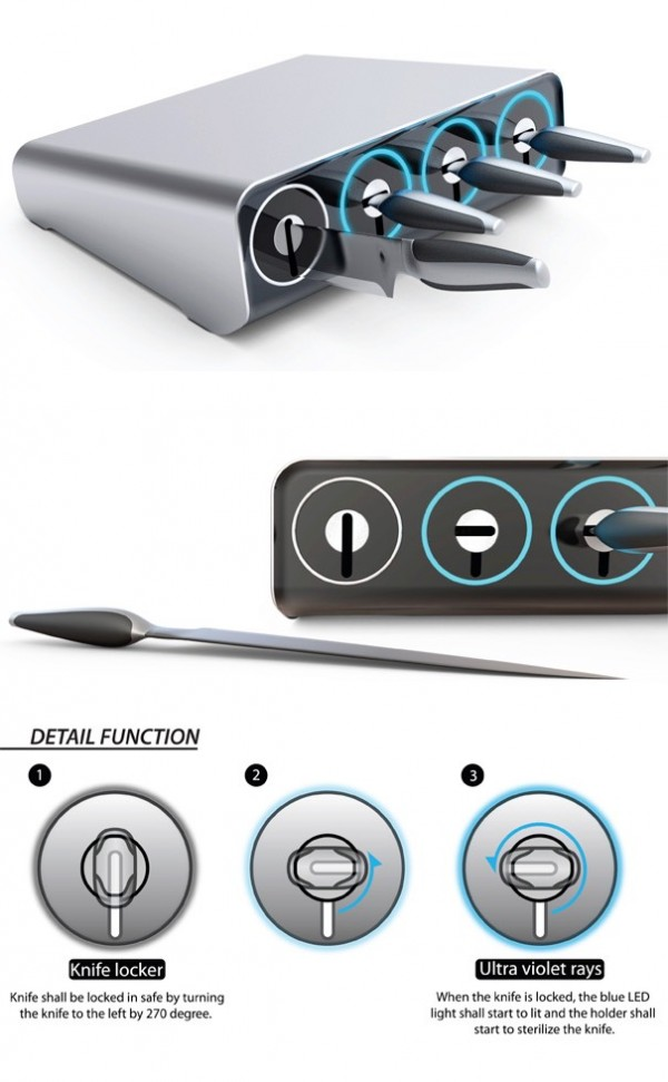 25+ Set of Extraordinary Knives | Architecture & Design