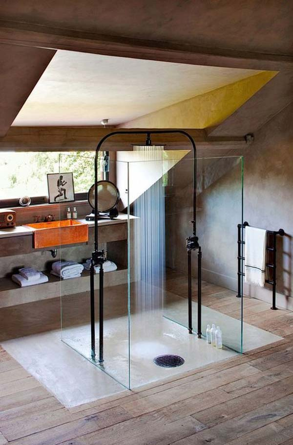 25+ Must See Rain Shower Ideas for Your Dream Bathroom ... on Contemporary:kkgewzoz5M4= Small Bathroom Ideas  id=45148