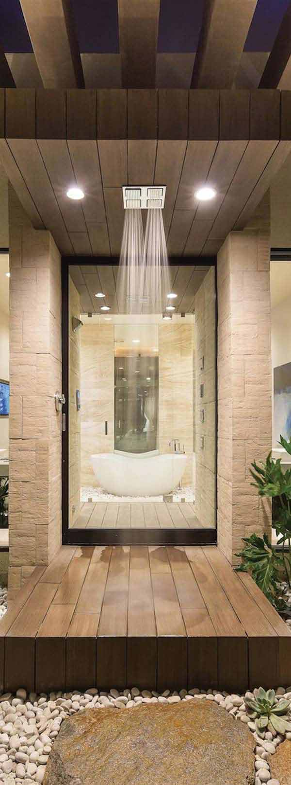 25+ Must See Rain Shower Ideas for Your Dream Bathroom ... on Contemporary:kkgewzoz5M4= Small Bathroom Ideas  id=89089