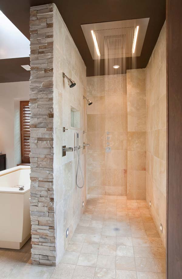 Must See Rain Shower Ideas For Your Dream Bathroom - Bathroom shower